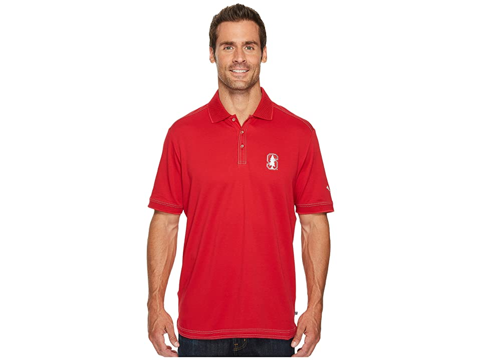 Tommy Bahama Stanford Cardinal Collegiate Series Clubhouse Alumni Polo (Stanford University) Men