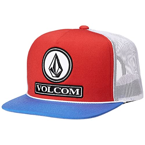 Volcom Mens Dually Cheese Five Panel Trucker Hat