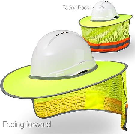Cool Lightweight Safety Helmet Construction Railway Sun-shade Hard Hat