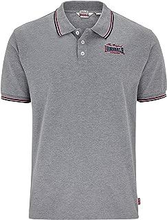 Men´s Regular-Fit Original Grey Polo Shirt with Back Print