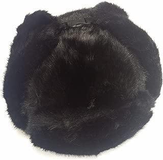 Pilot Trapper Men's Russian Winter Faux Mink Fur Pilot Aviator Ear Flaps Hat