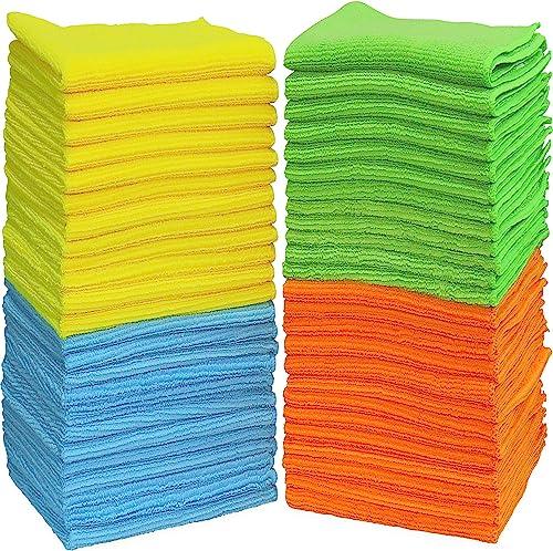 "50 Pack - SimpleHouseware Microfiber Cleaning Cloth (12"" x 16"")"