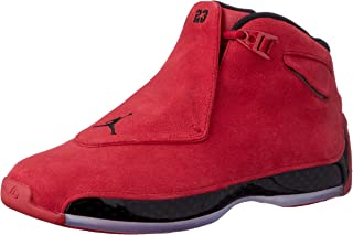 Air Jordan 18 Retro Red Suede AA2494 601 (11)