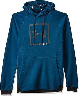 هودي انستوبابل 2 اكس للرجال من اندر ارمور مع الشعار Blue (Teal Vibe/Black) (Manufacturer Size:Small)