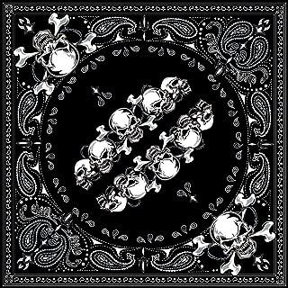 Best black bandana with skulls Reviews