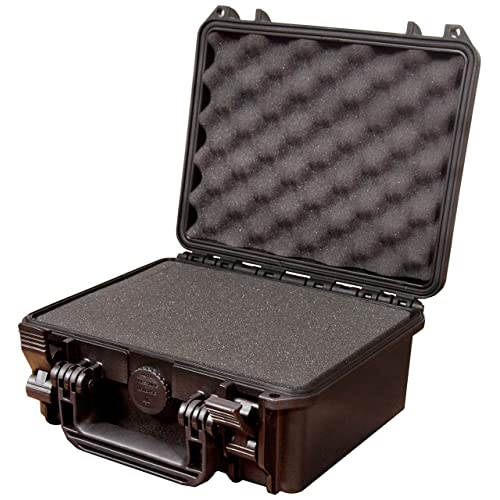 Max MAX235H105S IP67 Rated Waterproof Durable Watertight Equipment Photography Hard Carry Pick & Pluck Foam Plastic, Flight Case, Tool Box