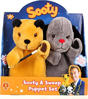 sooty puppet set