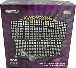 Zoom Karaoke Megapack - 500 of the Greatest Ever Karaoke Son