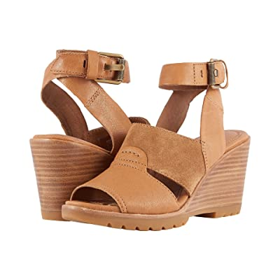 SOREL After Hours Sandal (Camel Brown) Women