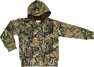 Camo Toddler Full Zip Hoodie in Break-Up Country