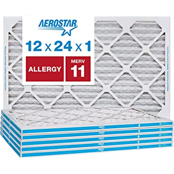 Mechanical MERV 8 Pack of 2 14 W x 14 H x 1 D 14 W x 14 H x 1 D Sterling Seal KP-5251079032x2 Purolator Key Pleat Extended Surface Pleated Air Filter Pack of 2
