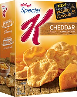Kellogg's Special K Cracker Chips Cheddar Flavour 113g {Imported from Canada}