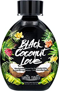 Tanning Paradise Black Coconut Love Tanning Lotion | Coconut Oil | Age-Defying | Tattoo Protecting Formula | Ultra Hydrati...
