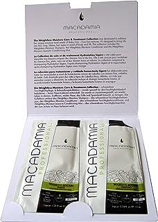 Macadamia Professional Weightless Moisture Set For Unisex 2 x 0.34 oz Shampoo and Conditioner
