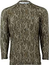 Mossy Oak Camo Long Sleeve Tech Tee Hunting Shirts for Men, Camouflage shirt