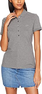 Lacoste Women's 5 Button Slim Stretch Core Polo