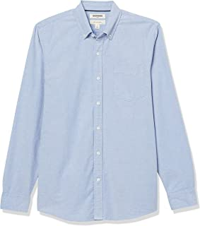 Goodthreads Men's The Perfect Oxford Shirt Slim-Fit Long-Sleeve Solid with Pocket