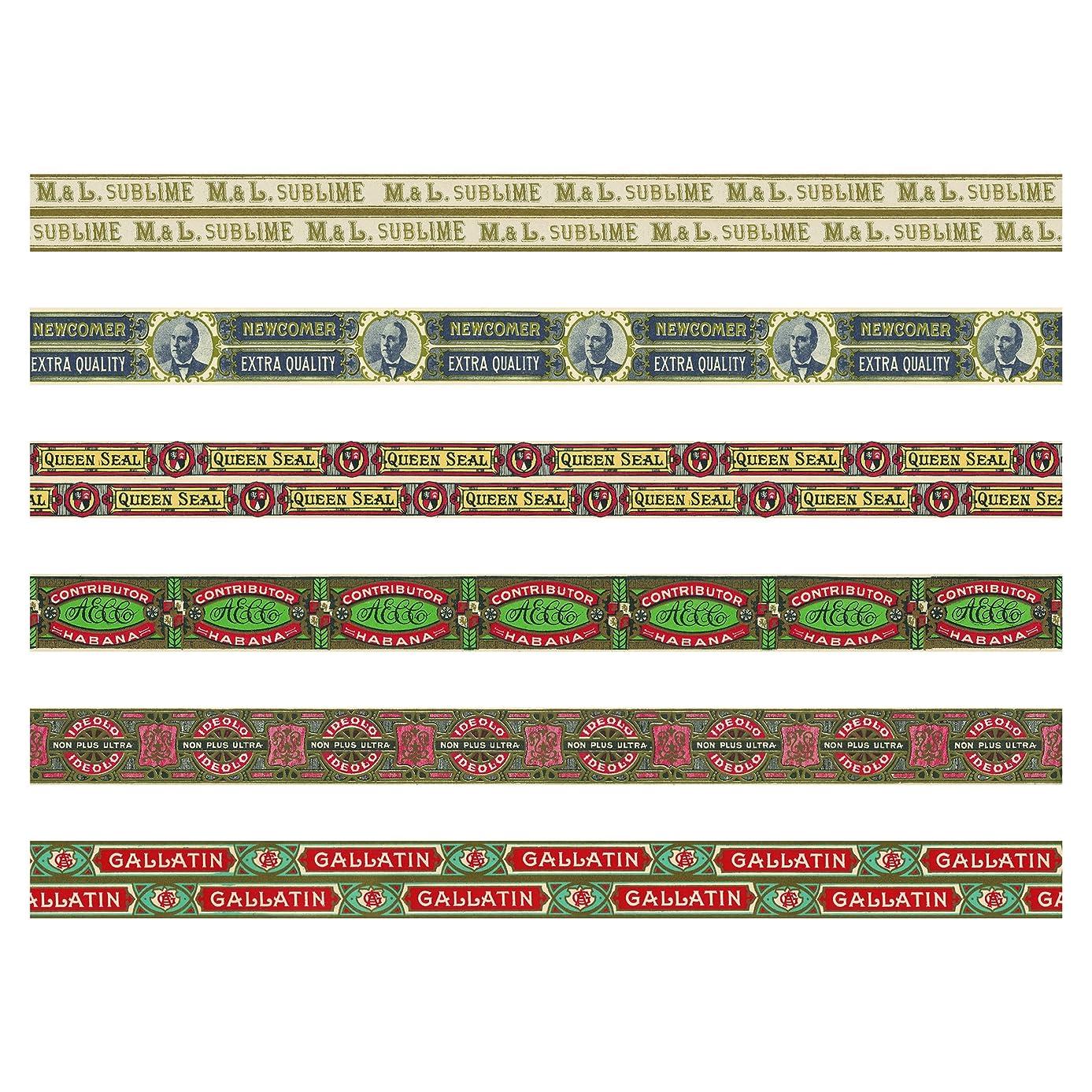 Advantus TH93675 Humidor Idea-Ology Design Tape, Multicolor