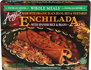 Amy's Whole Meals, Black Bean Enchilada, 10.0 Ounce (Frozen)