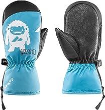 Zanier Unisex Jeugd 12020-4520-3 handschoenen, turquoise, zwart, 3