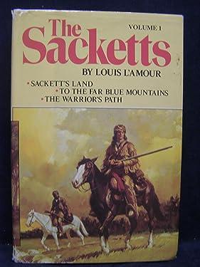The Sacketts Vol. 1: Sackett's Land, To the Far Blue Mountains, The Warrior's Path (1980, Doubleday)