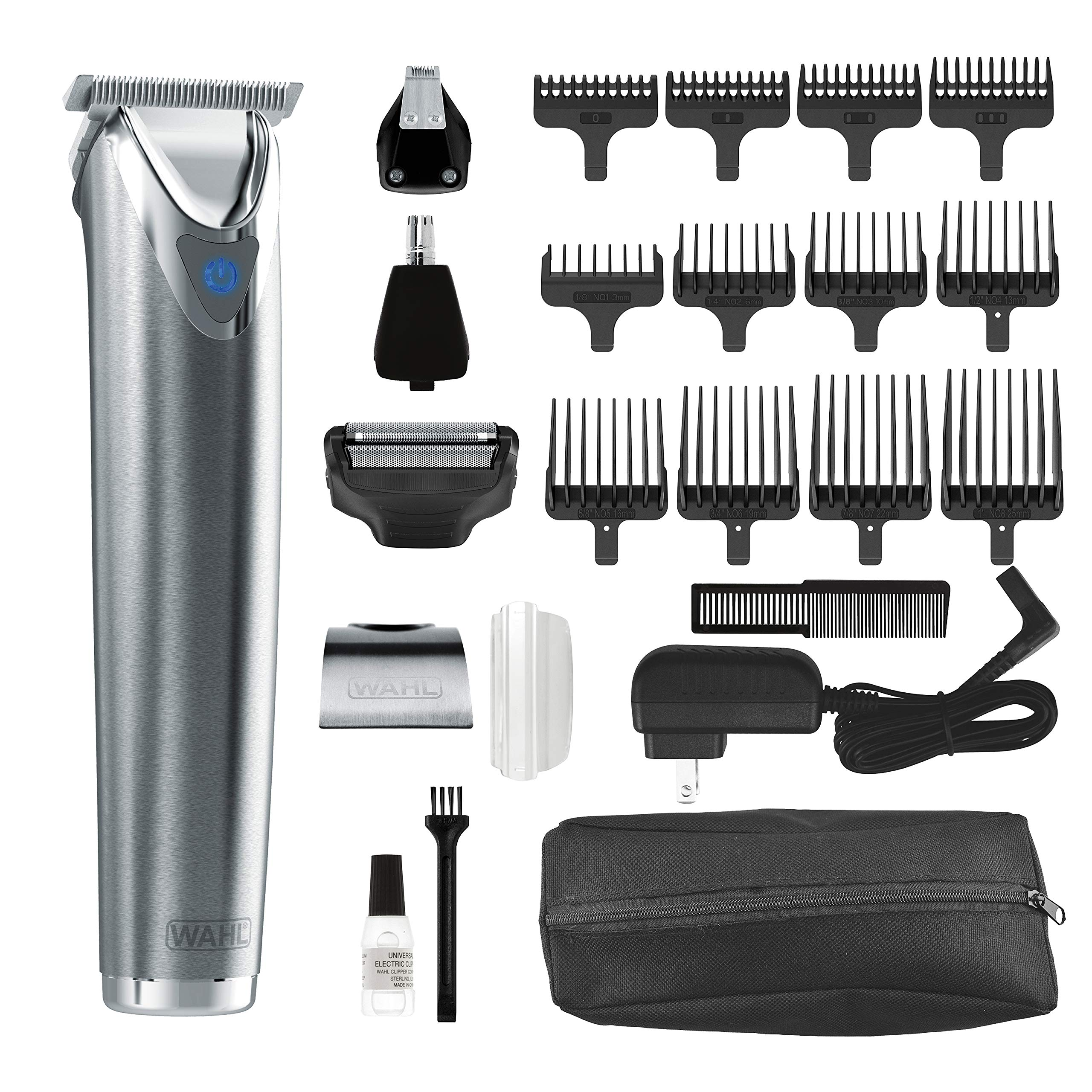 Stainless No 9864SS Cordless Rechargeable Grooming
