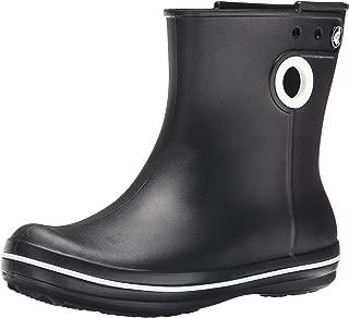 Crocs Women's Jaunt Shorty Boot, Black, 6 M US