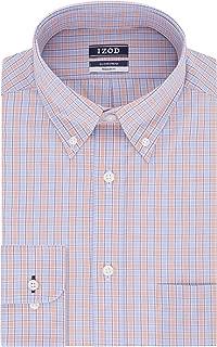 Men's Dress Shirt Regular Fit Stretch Check