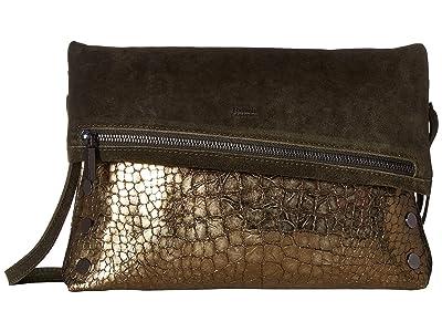Hammitt VIP Large (Eucalyptus Suede/Eucalyptus Nilo/Gunmetal) Handbags