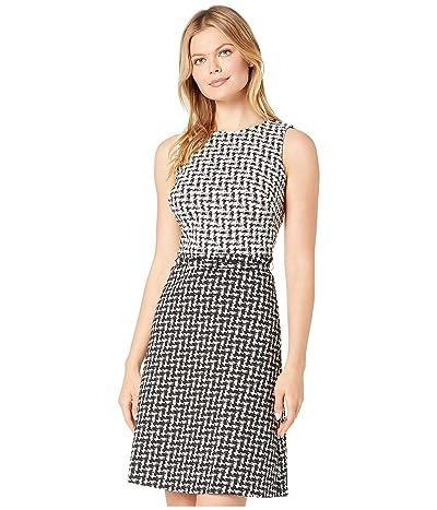 LAUREN Ralph Lauren Abstract Jacquard Kira Sleeveless Day Dress