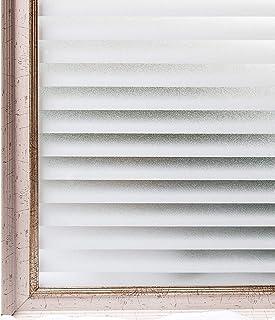 CottonColors 3D窓用フィルム 目隠しシート 何度でも貼り直せる 窓ガラスフィルム 遮熱 紫外線カット のりなし 90x200cm プライバシーガラスフィルム DIY [ブラインド038]