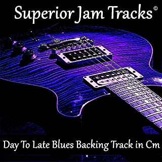 Day to Late Blues Guitar Backing Track in C Minor