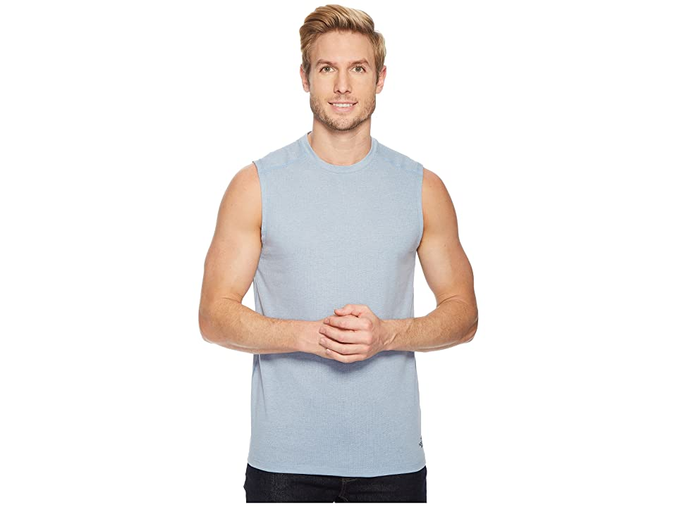 The North Face Day Three Tank Top (Dusty Blue Heather) Men