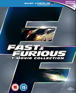 Fast & Furious 1-7 2015  Region Free