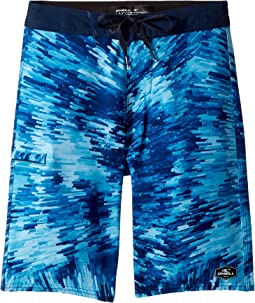 Hyperfreak Crystalize Superfreak Boardshorts (Big Kids)