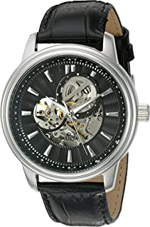 Invicta Mens 22577 Vintage Analog Display Automatic Self Wind Black Watch