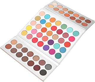 New Beauty Glazed 63 Color Eyeshadow Palette Makeup,Matte Eye Shadow Palettes Waterproof Powder Natural Pigmented Nude Naked Smokey Professional Cosmetic