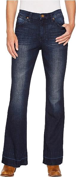 Wrangler - Western High-Waist Jeans Flare