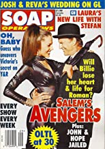 Krista Allen-Moritt, Josh Taylor, Days of Our Lives, Carly Schroeder, Maitland Ward, One Life to Live 30th Anniversary - July 21, 1998 Soap Opera News Magazine