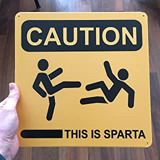 this is sparta warning sign