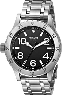 Nixon Women's A410000 38-20 Analog Display Japanese Quartz Silver Watch