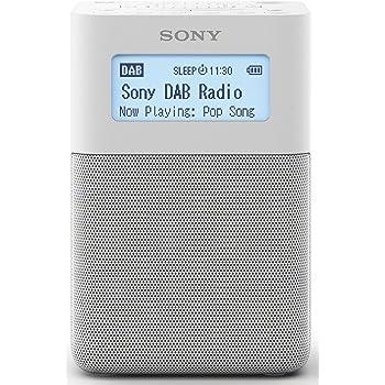 Sony XDR-V20D Radio, DAB+, mit Stereo-Lautsprecher, weiß