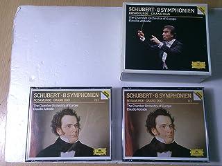 シューベルト:交響曲全集(第1〜6、8、9番、ソナタ「大二重奏曲」、「ロザムンデ」序曲)