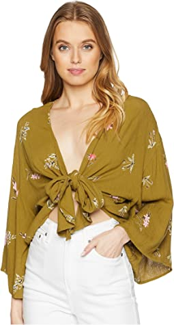 Knot Yours Woven Top
