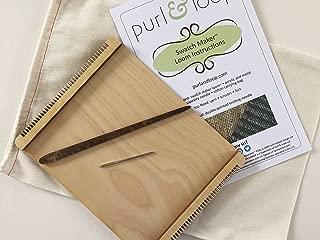 Purl & Loop Swatch Maker Weaving Loom (8.0)