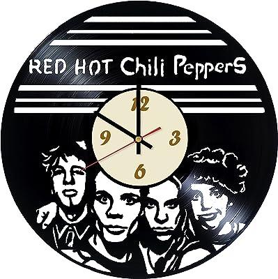 La Bella Casa Red Hot Chili Peppers Rock music Vinyl Wall Clock - Get Unique Wall