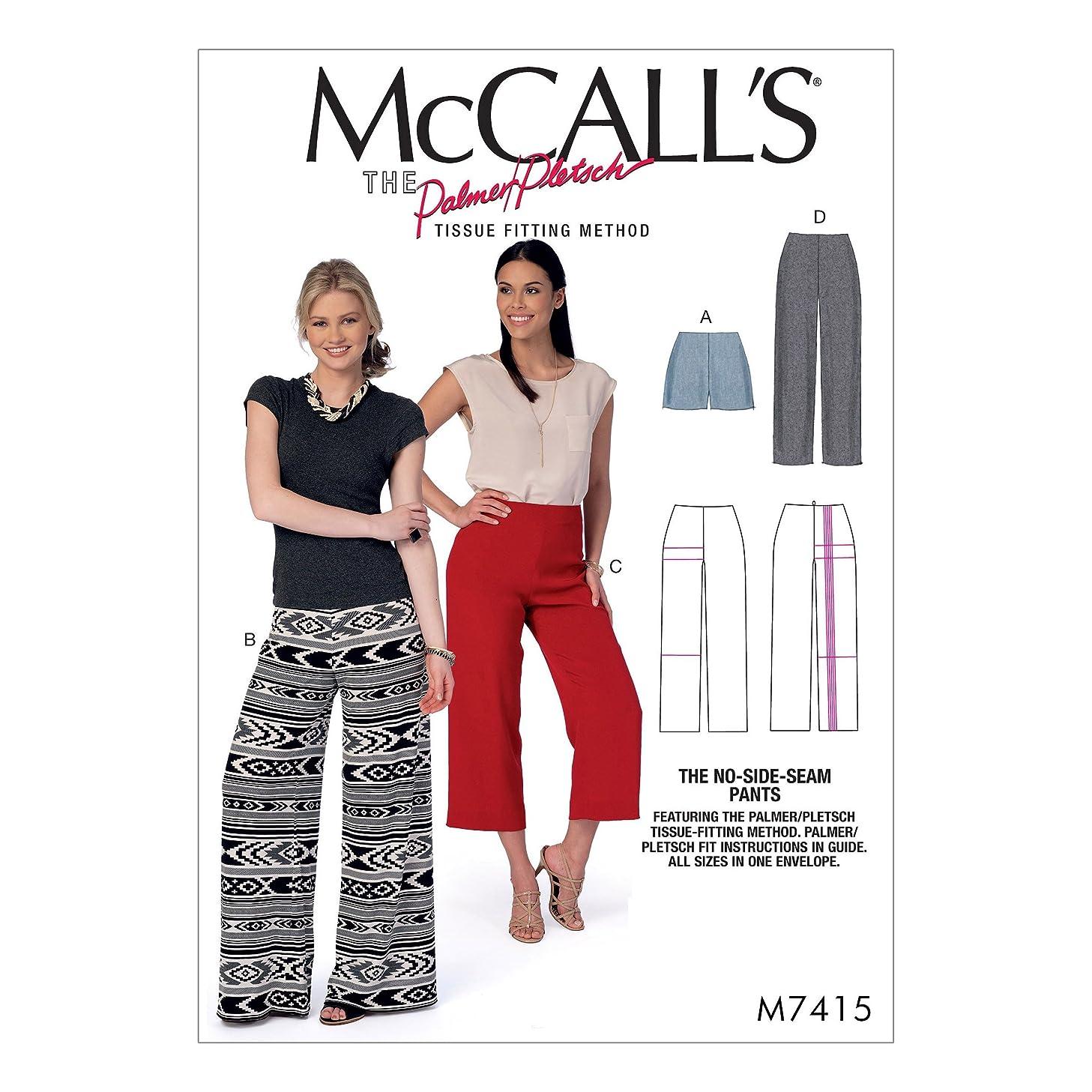 McCall's Patterns M7415OSZ Shorts & Pants Sewing Pattern