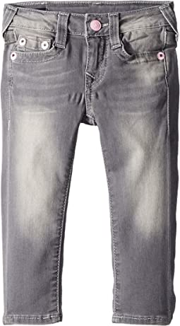 True Religion Kids - Casey Skinny Jeans in Chevron Grey (Toddler/Little Kids)