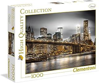Clementoni Puzzle Hqc Newyork Skyline 1000 Pieces, Multicolor, 6800000248, 39366.4