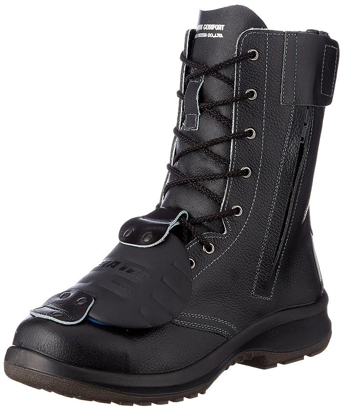 変装きちんとしたブラジャー安全靴 JIS規格 甲プロテクタ付き 長編上靴 プレミアムコンフォート PRM230F オールハトメ 甲プロMII メンズ